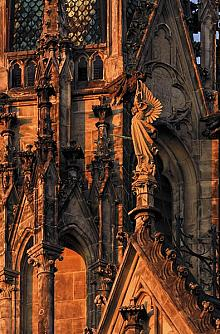 Detail of the decorative art of St. Wenceslas Cathedral, source: Archiv Vydavatelství MCU s.r.o., photo by: Libor Sváček