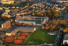 Andrův Stadium, the home turf of the soccer club Sigma Olomouc, source: Archiv Vydavatelství MCU s.r.o., photo by: Libor Sváček