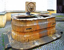 The very smallest of the Olomouc fountains canbe found near the Church of St. Maurice., source: Archiv Vydavatelství MCU s.r.o., photo by: Libor ...
