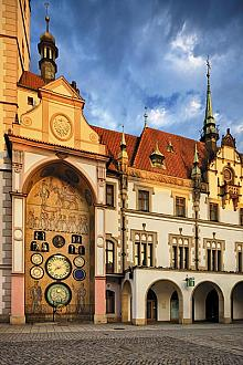 The Astronomical Clock in its socialist form, source: Archiv Vydavatelství MCU s.r.o., photo by: Libor Sváček