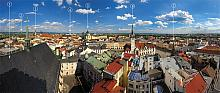 1) roof of the nave of the Church of St. Maurice 2) Holy Hillock 3) St. Wenceslas Cathedral 4) RegionalCenter Olomouc 5) Church of St. Michael 6) ...